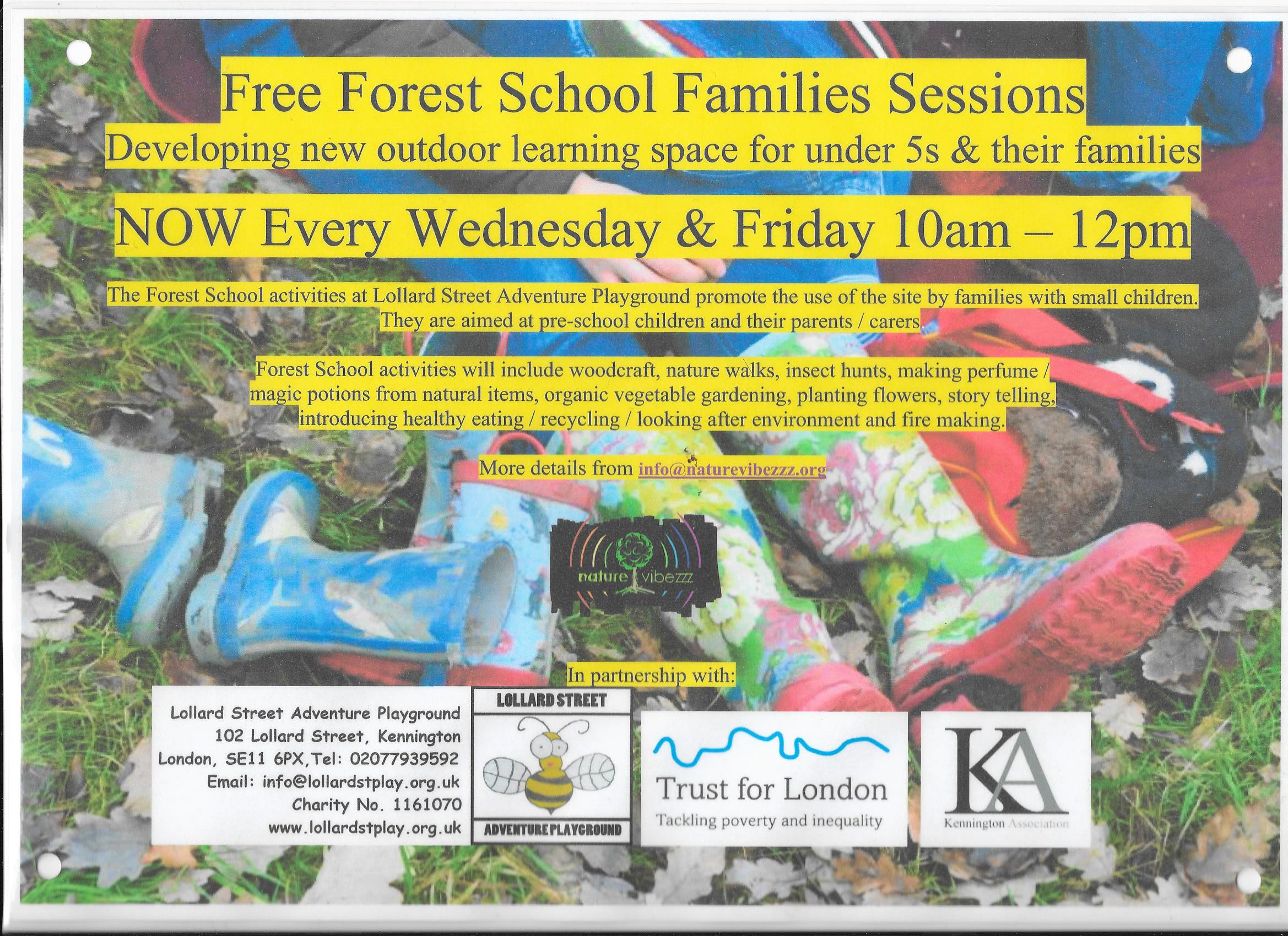 Forestschool flyer